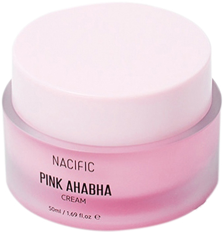 ANA & BHA Face Cream with Watermelon Extract - Nacific Pink AHA BHA Cream