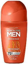 Fragrances, Perfumes, Cosmetics Roll-On Deodorant - Oriflame North for Men Power Max