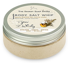 Fragrances, Perfumes, Cosmetics Tobacco & Whiskey Shower Salt Mousse - The Secret Soap Store Tobacco And Whiskey Body Salt Whip