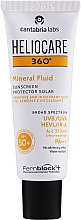 Fragrances, Perfumes, Cosmetics Sunscreen Mineral Fluid - Cantabria Labs Heliocare 360º Mineral Fluid SPF 50+