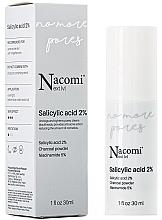 Fragrances, Perfumes, Cosmetics Salicylic Acid 2% Face Serum - Nacomi Next Level Salicylic Acid 2%