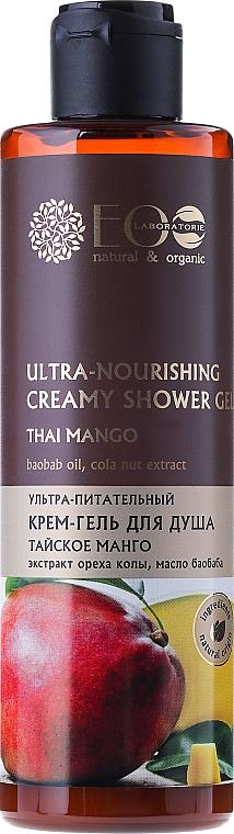 "Ultra Nourishing Cream-Shower Gel ""Thai Mango"" - ECO Laboratorie"