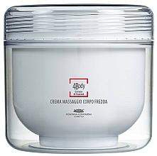 Fragrances, Perfumes, Cosmetics Massage Cream - Fontana Contarini 4Body Cold Body Massage Cream