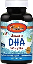 Fragrances, Perfumes, Cosmetics Kid's Chewable DHA with Orange Flavor - Carlson Labs Kid's Chewable DHA