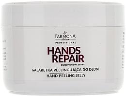 "Fragrances, Perfumes, Cosmetics Hand Peeling ""Peach Hands"" - Farmona Farmona Brzoskwiniowe Dlonie"