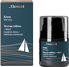 Fragrances, Perfumes, Cosmetics Anti-Wrinkle Taurine & Vitamin C Eye Cream - _Element Men Eye Cream