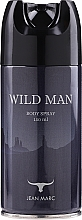 Fragrances, Perfumes, Cosmetics Jean Marc Wild Man - Deodorant