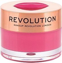 Fragrances, Perfumes, Cosmetics Watermelon Heaven Lip Balm-Mask - Makeup Revolution Kiss Lip Balm Watermelon Heaven