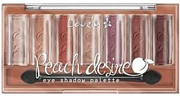 Fragrances, Perfumes, Cosmetics Eyeshadow Palette - Lovely Peach Desire