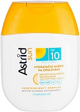 Fragrances, Perfumes, Cosmetics Moisturizing Sun Milk SPF10 - Astrid Sun Moisturizing Suncare Milk
