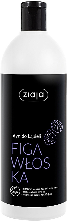 Bath Foam 'Italian Fig' - Ziaja Bath Foam