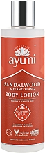 Fragrances, Perfumes, Cosmetics Sandalwood and Ylang-Ylang Body Lotion - Ayumi Sandalwood & Ylang Ylang Body Lotion