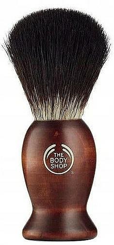 Shaving Brush - The Body Shop Men's Wooden Shaving Brush — photo N1