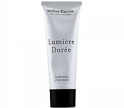 Fragrances, Perfumes, Cosmetics Miller Harris Lumiere Doree - Hand Cream