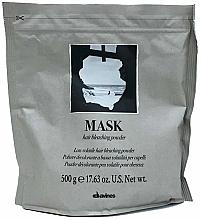 Fragrances, Perfumes, Cosmetics Lightening Powder - Davines Mask Hair Bleaching Powder