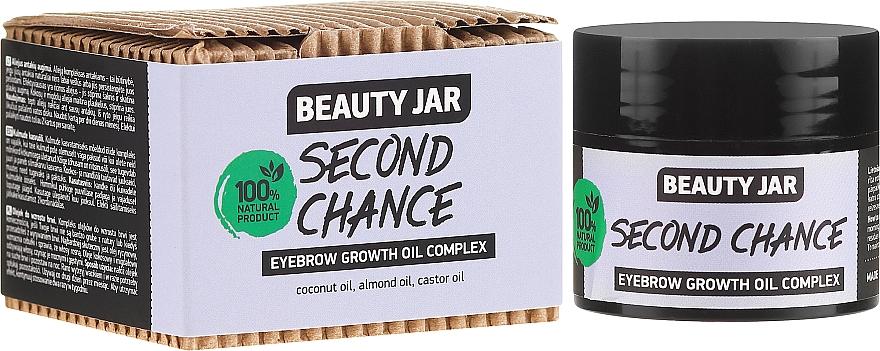 Brow Growth Oil Complex - Beauty Jar Second Chance Eyebrow Growth Oil Complex