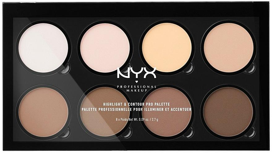 Contour Palette - NYX Professional Makeup Highlight & Contour Pro Palette
