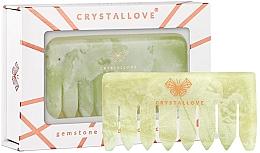 Fragrances, Perfumes, Cosmetics Jade Scalp Massage Comb - Crystallove