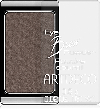 Fragrances, Perfumes, Cosmetics Brow Powder - Artdeco Eye brow Powder