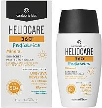 Fragrances, Perfumes, Cosmetics Kids Mineral Sun Gel Cream SPF 50+ - Cantabria Labs Heliocare 360? Pediatrics Mineral SPF 50+