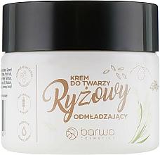 Fragrances, Perfumes, Cosmetics Rice Face Cream - Barwa Naturalna