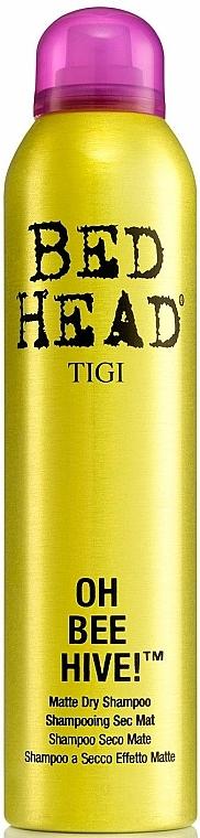 Hair Volume Dry Shampoo - Tigi Bee Hive Matte Dry Shampoo