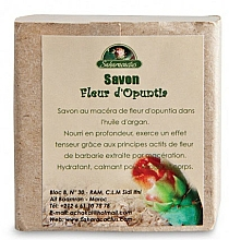 Fragrances, Perfumes, Cosmetics Soap with Prickly Pear Flowers Macerate - Efas Saharacactus Macerat Opuntia Ficus Soap