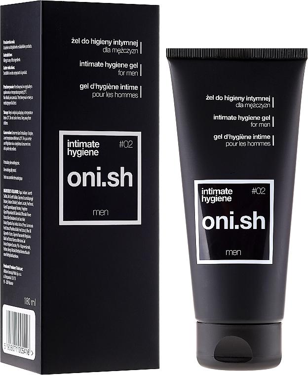 Intimate Wash Gel - Oni.sh Men Intimate Hygiene Gel