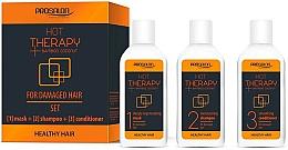 Fragrances, Perfumes, Cosmetics Set - Prosalon Hot Therapy (mask/50ml + shm/50ml + cond/50ml)