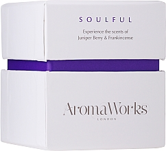 """Fragrances, Perfumes, Cosmetics Scented Candle """"Soulful"""" - AromaWorks Soulful Candle"""
