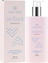 Fragrances, Perfumes, Cosmetics Color Protection Shampoo for Colored Hair - Halier Re:flect Shampoo
