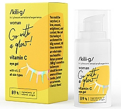 Fragrances, Perfumes, Cosmetics Vitamin C Eye Gel - Kili·g Woman Eye Gel
