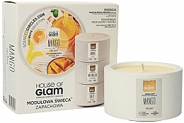 Fragrances, Perfumes, Cosmetics Scented Candle - House of Glam Mango Delight Candle