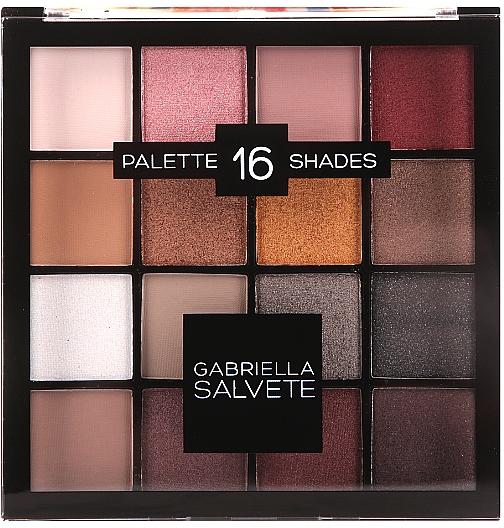 Eyeshdow Palette - Gabriella Salvete Palette 16 Shades II