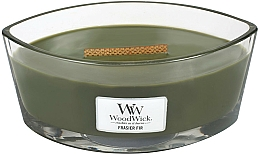 Fragrances, Perfumes, Cosmetics Scented Candle in Glass - WoodWick Hearthwick Flame Ellipse Candle Frasier Fir