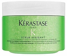 Fragrances, Perfumes, Cosmetics Soothing Scrub for Sensitive Scalp - Kerastase Fusio-Scrub Apaisant