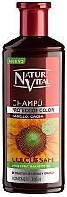 Fragrances, Perfumes, Cosmetics Color Protection Shampoo - Natur Vital Coloursafe Henna Colour Shampoo Mahogony Hair