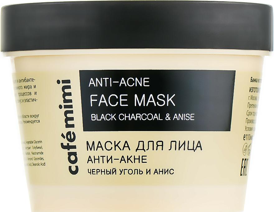 Anti-Acne Face Mask - Cafe Mimi Face Mask