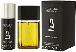 Fragrances, Perfumes, Cosmetics Azzaro Pour Homme Travel - Set (edt/100ml + deo/150ml)