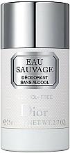 Fragrances, Perfumes, Cosmetics Dior Eau Sauvage - Deodorant-Stick