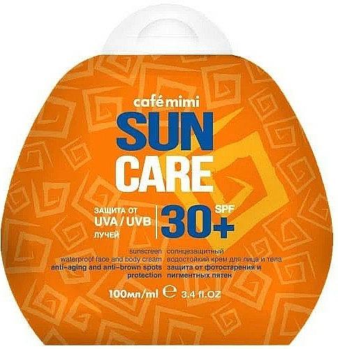 Sunscreen Waterproof Face & Body Cream SPF30+ - Cafe Mimi Sun Care