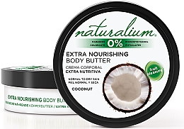 Fragrances, Perfumes, Cosmetics Body Oil - Naturalium Coconut Extra Nourishing Body Butter
