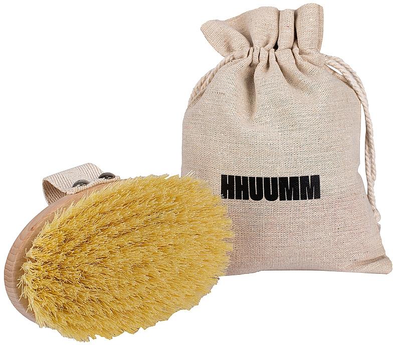 Massage Body Brush with Tampico Fiber - Hhuumm № 1 — photo N1
