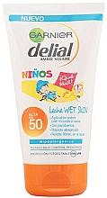 Fragrances, Perfumes, Cosmetics Baby Sunscreen Cream - Garnier Ambre Solaire Delial Sun Milk Sensitive Advanced SPF50