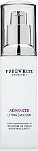 Fragrances, Perfumes, Cosmetics Firming Face Emulsion - Pure White Cosmetics Advanced Lifting Emulsion