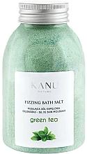 "Fragrances, Perfumes, Cosmetics Fizzy Bath Salt ""Green Tea"" - Kanu Nature Green Tea Fizzing Bath Salt"