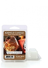 Fragrances, Perfumes, Cosmetics Scented Wax - Kringle Candle Cognac & Leather Wax Melt