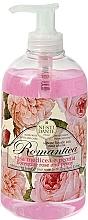 Fragrances, Perfumes, Cosmetics Dante Rose & Peony Liquid Soap - Nesti Dante Romantica Dante Rose & Peony Liquid Soap