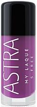 Fragrances, Perfumes, Cosmetics Nail Polish - Astra Make-up My Laque 5 Free