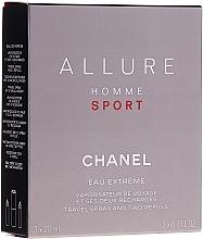 Fragrances, Perfumes, Cosmetics Chanel Allure Homme Sport Eau Extreme - Eau de Parfum (edp/20ml + refills/2x20ml)